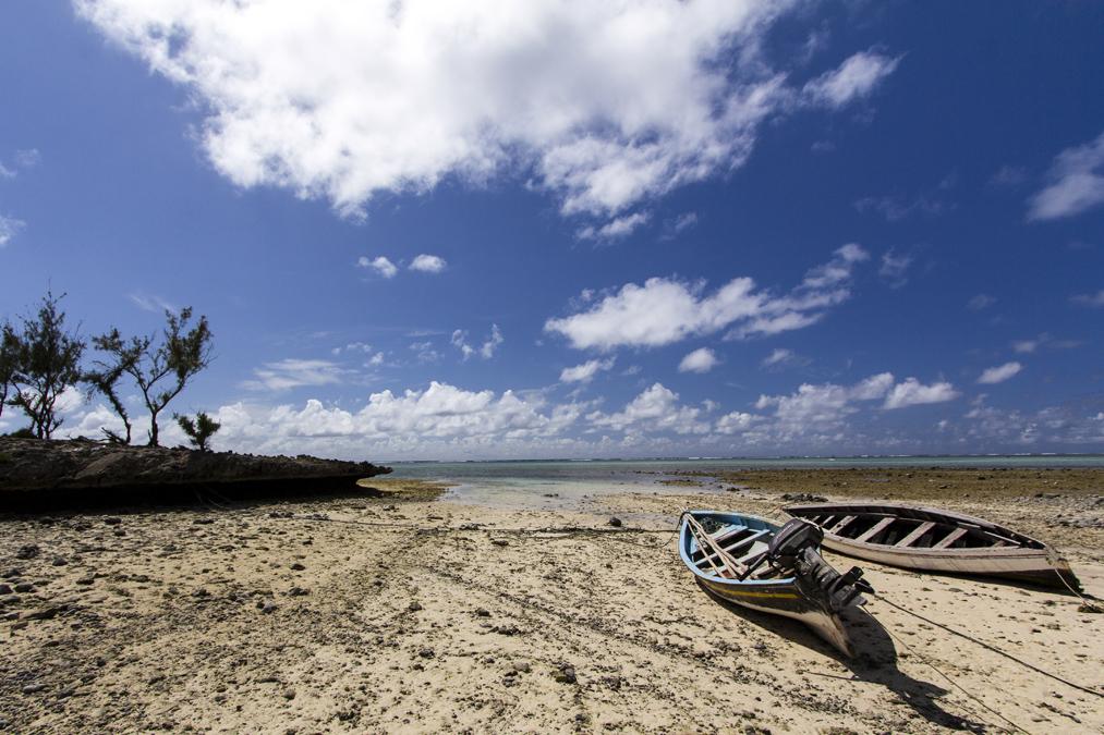 Plage de Graviers à Rodrigues