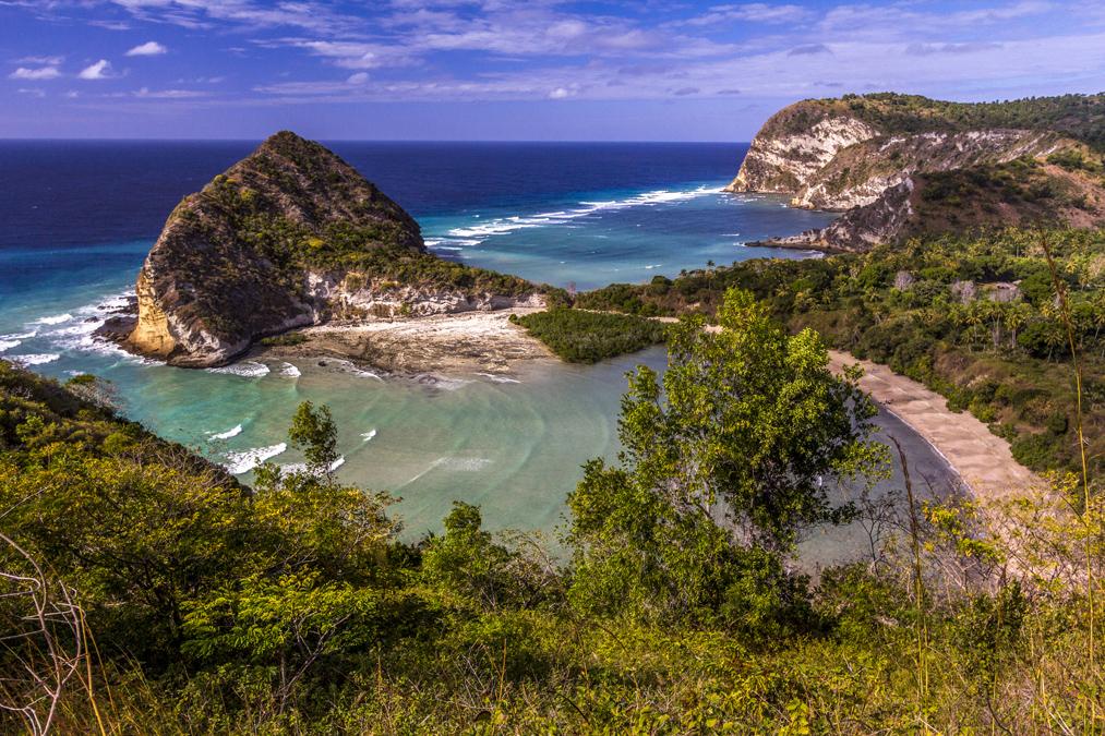Plage de Moya à Mayotte
