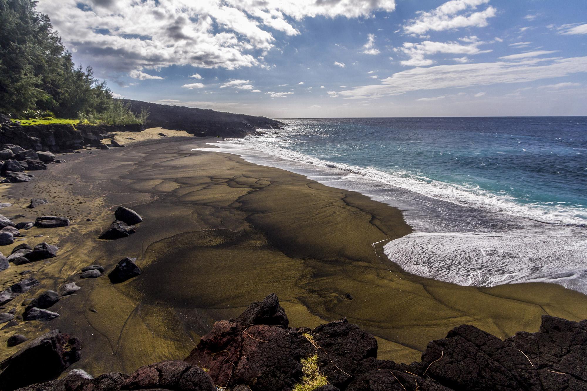 Plage du Tremblet à la Réunion