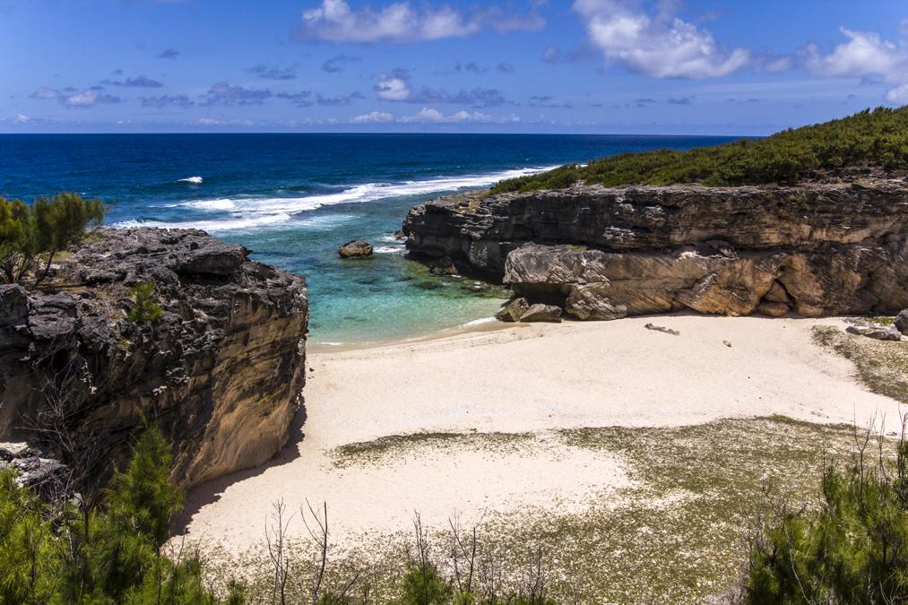 Trou d' Argent Beach à Rodrigues