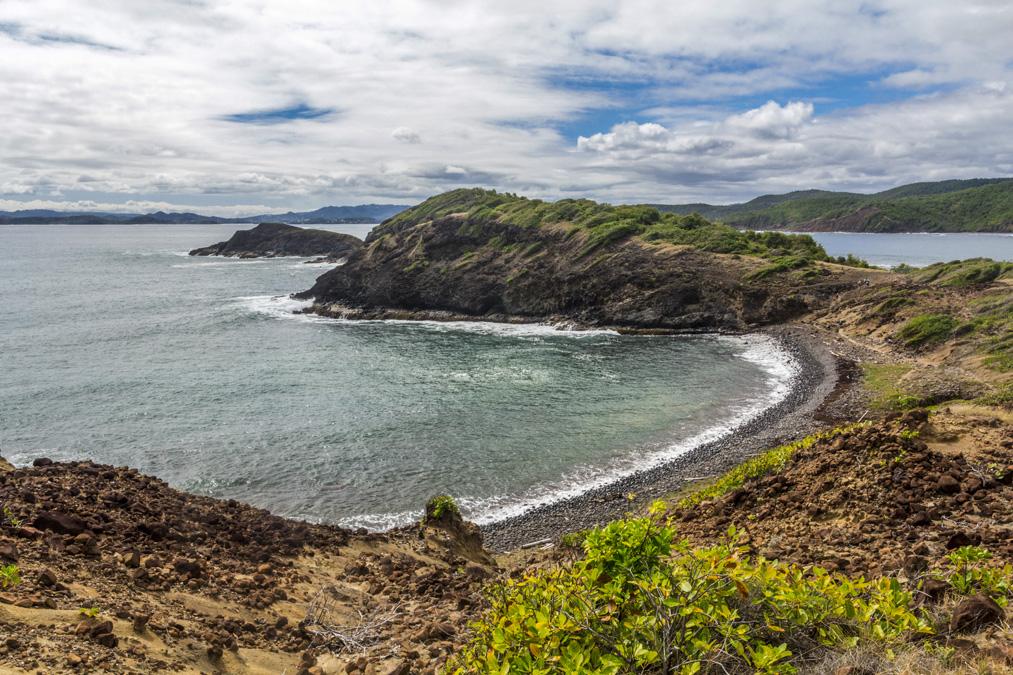 Pointe Caracoli de la Presqu'île de la Caravelle en Martinique