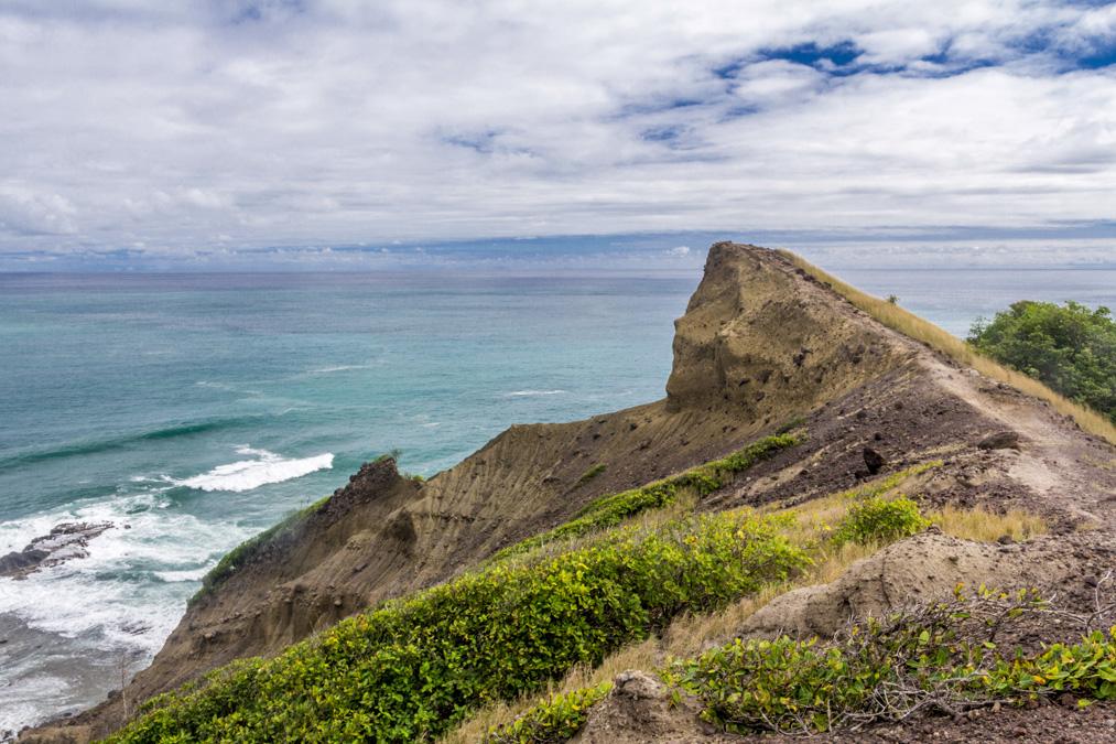 Pointe Petit Nègre de la Presqu'île de la Caravelle en Martinique