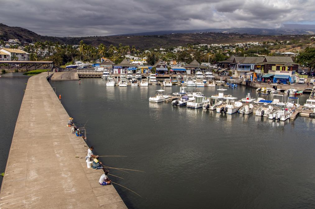Port de Saint-Gilles-Les-Bains à la Réunion