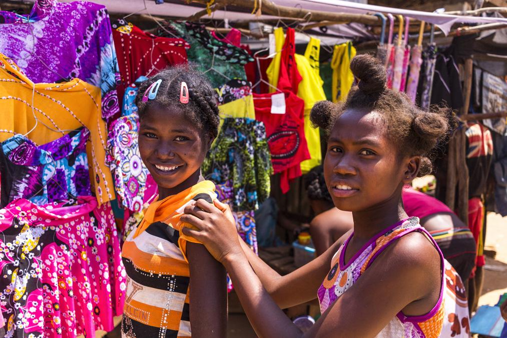 Enfants malgaches à Madagascar