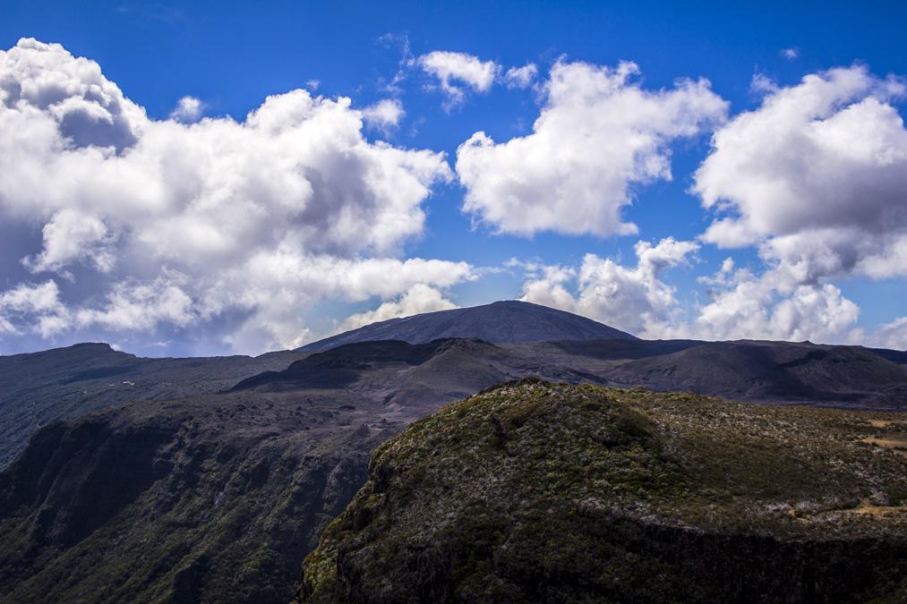 Rempart du Tremblet à la Réunion
