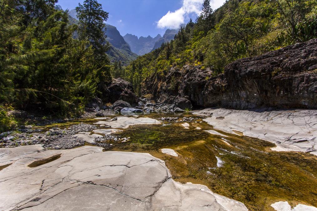 Rivière du Bras Rouge à la Réunion