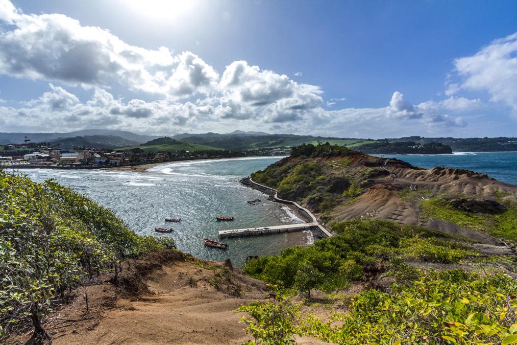 Le tombolo de Sainte-Marie en Martinique
