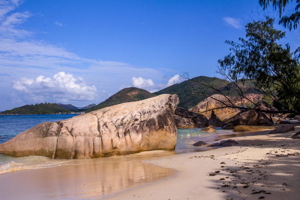 Anse Boudin (Praslin) aux Seychelles