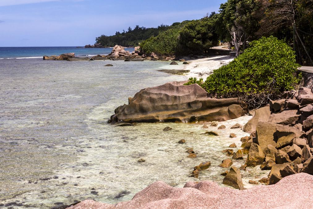 Anse Banane (La Digues) aux Seychelles