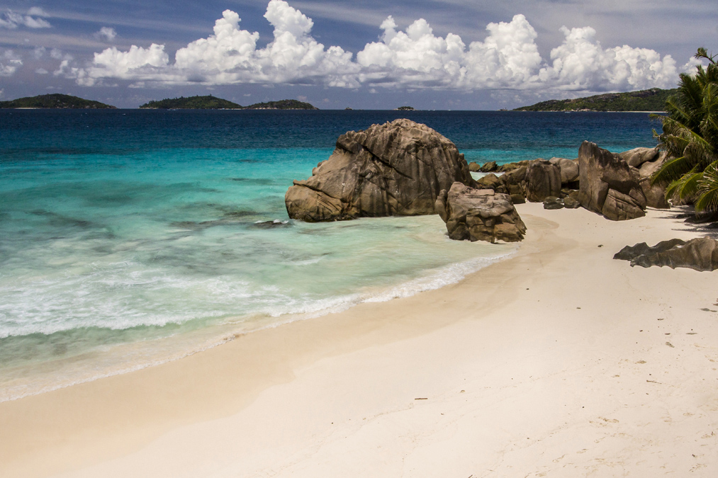 Anse Patates (La Digues) aux Seychelles