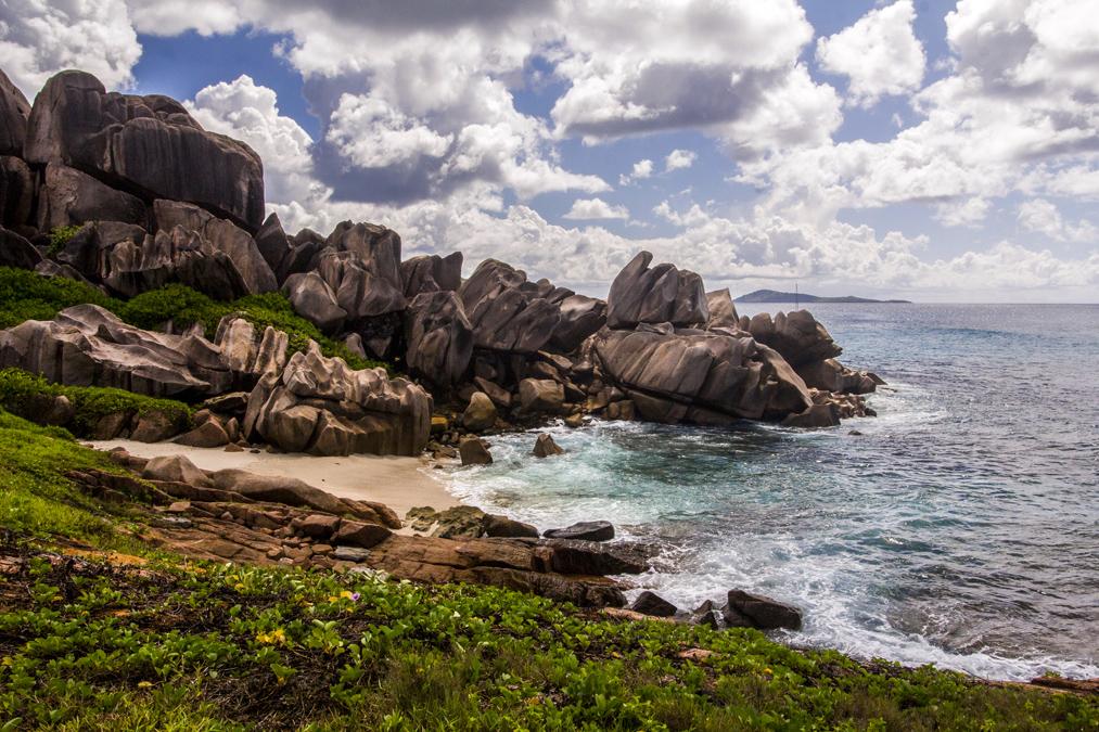 Anse Songe (La Digue) aux Seychelles