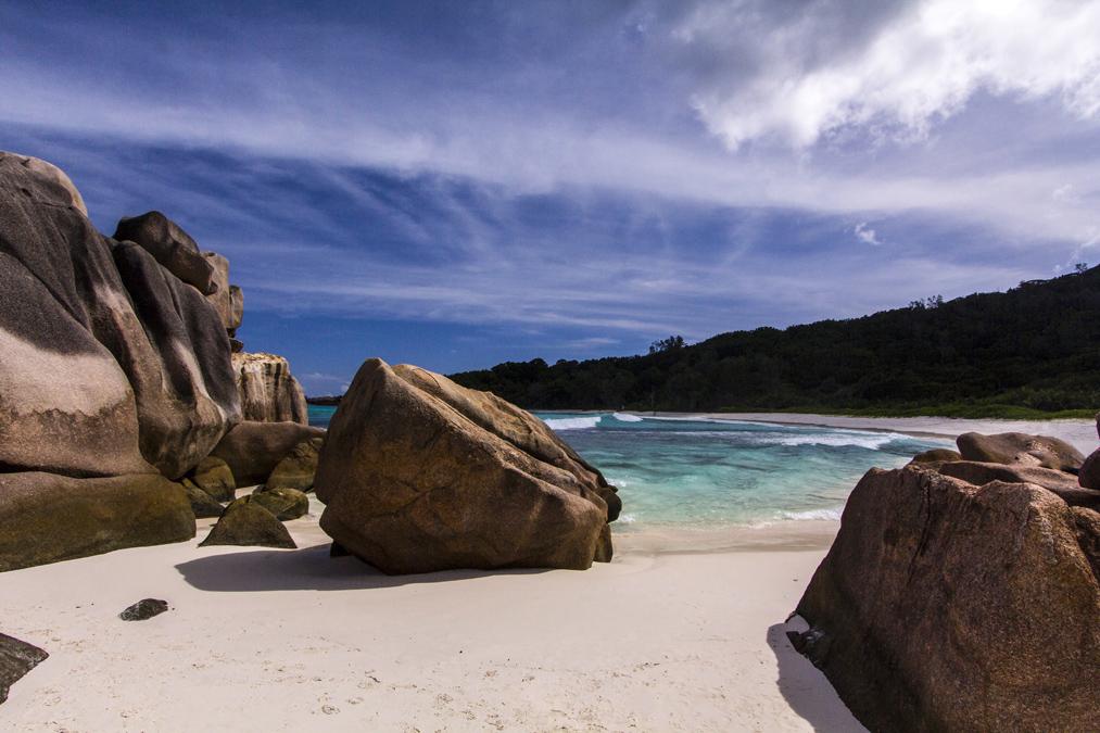 Anse Cocos (La Digues) aux Seychelles