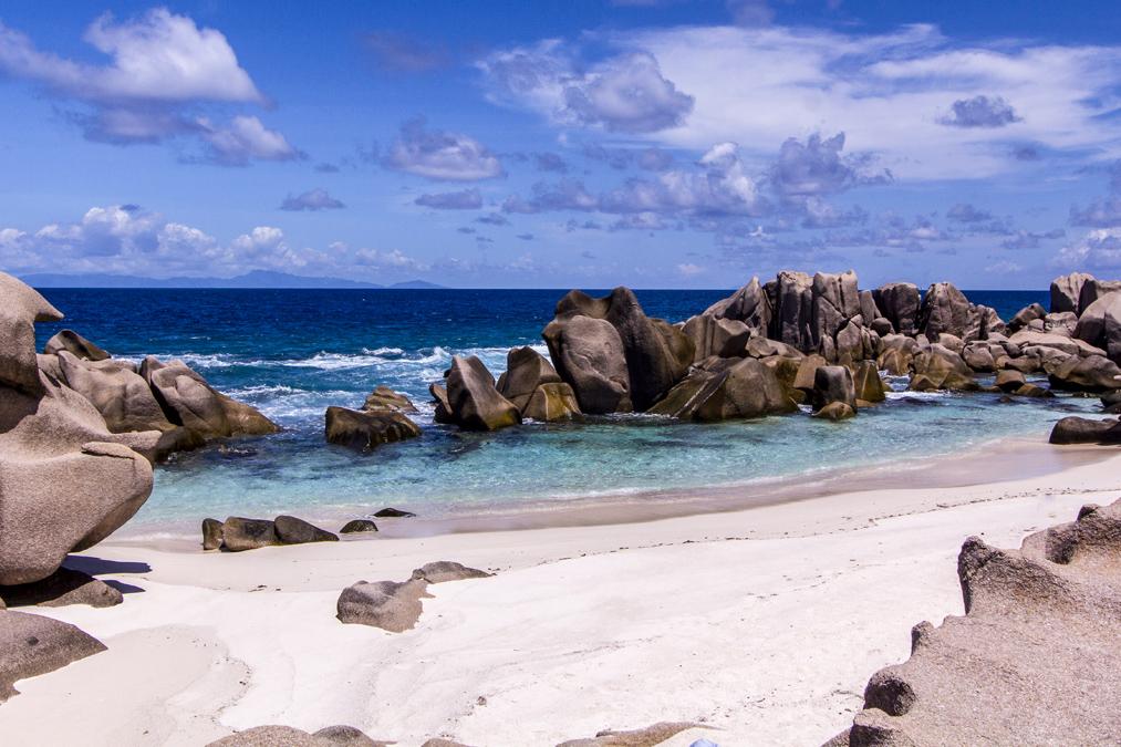 Anse Marron (La Digue) aux Seychelles