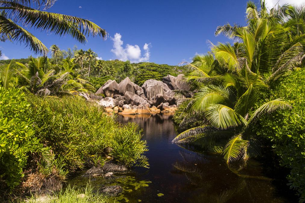 Randonnée Petite Anse aux Seychelles