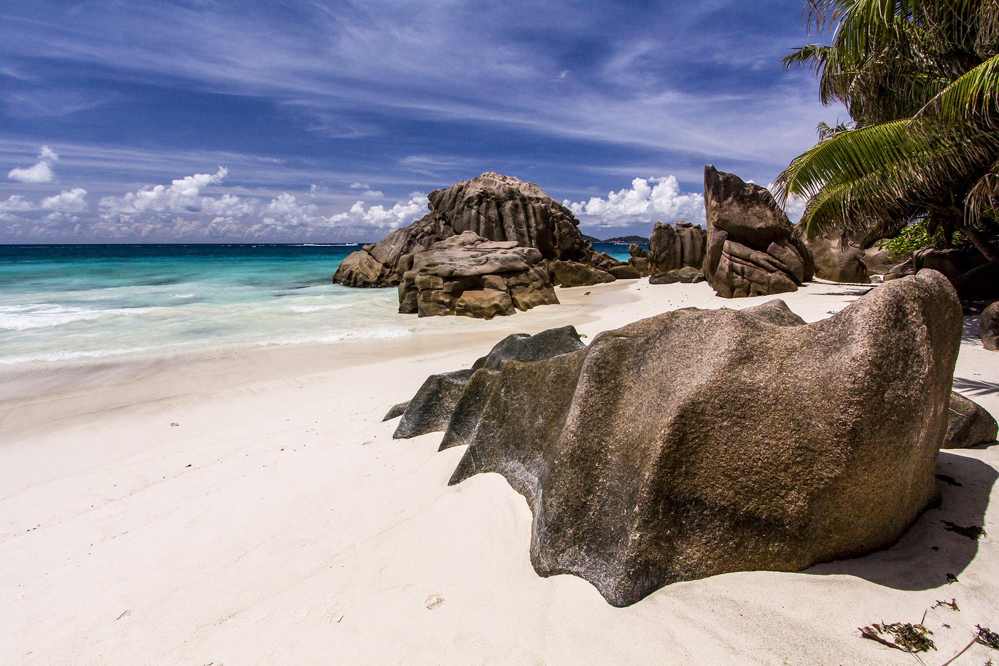 Anse Patates (La Digues) aux Seychelles par Guillaume Projetti