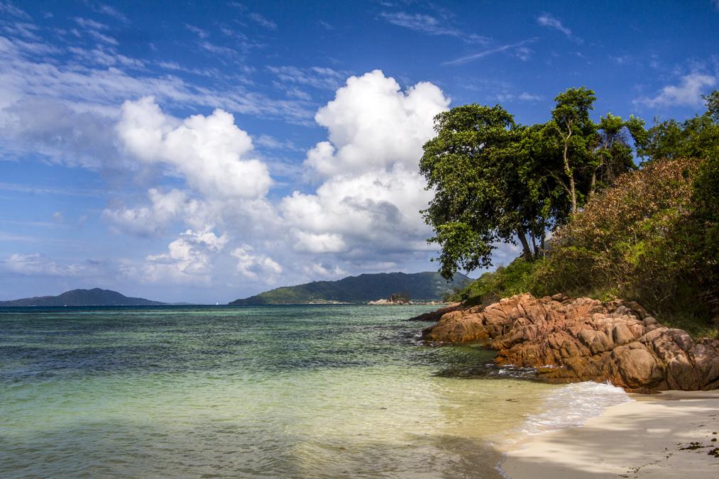 Anse La Blague (Praslin) aux Seychelles