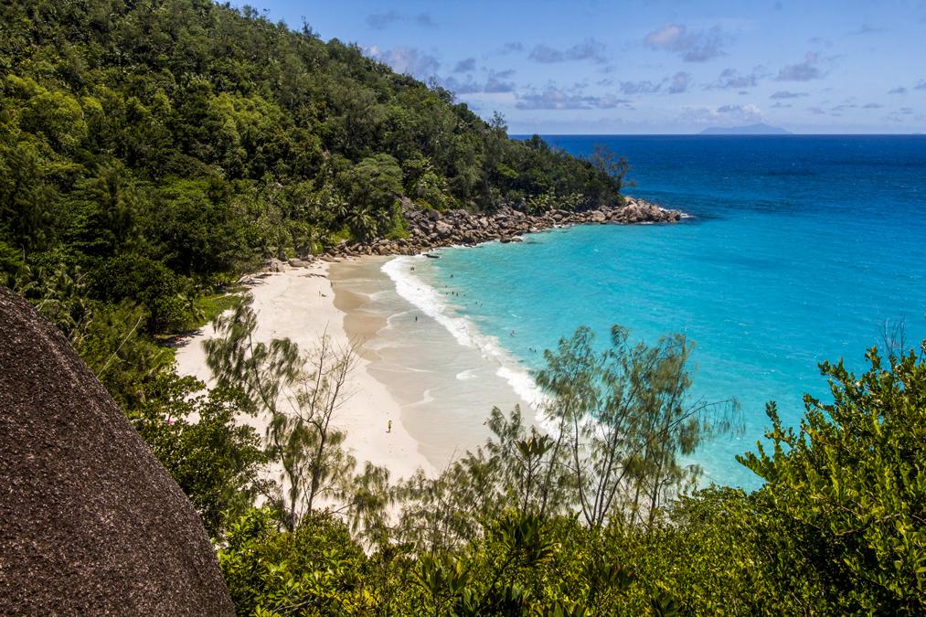 Anse Georgette (Praslin) aux Seychelles
