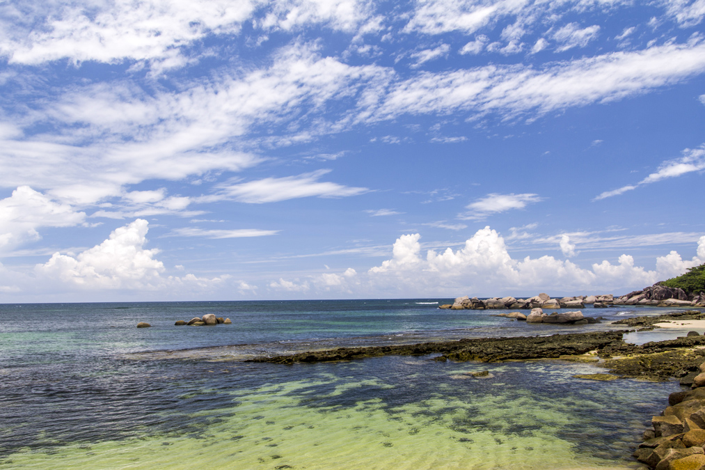 Anse Volbert (Praslin) aux Seychelles
