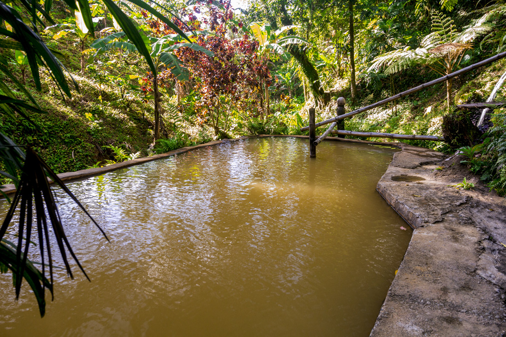 Ti Kwen Glo Cho Hot Springs de la Dominique