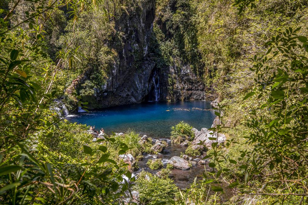 Cascade du Trou noir à la Réunion