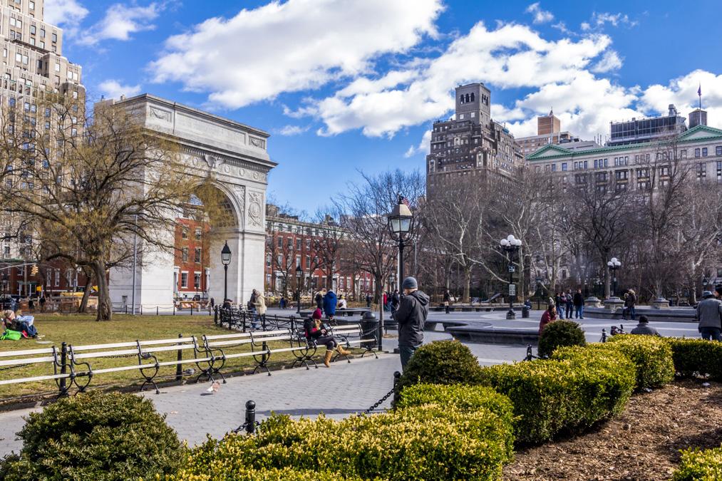 Washington Square Park à New York