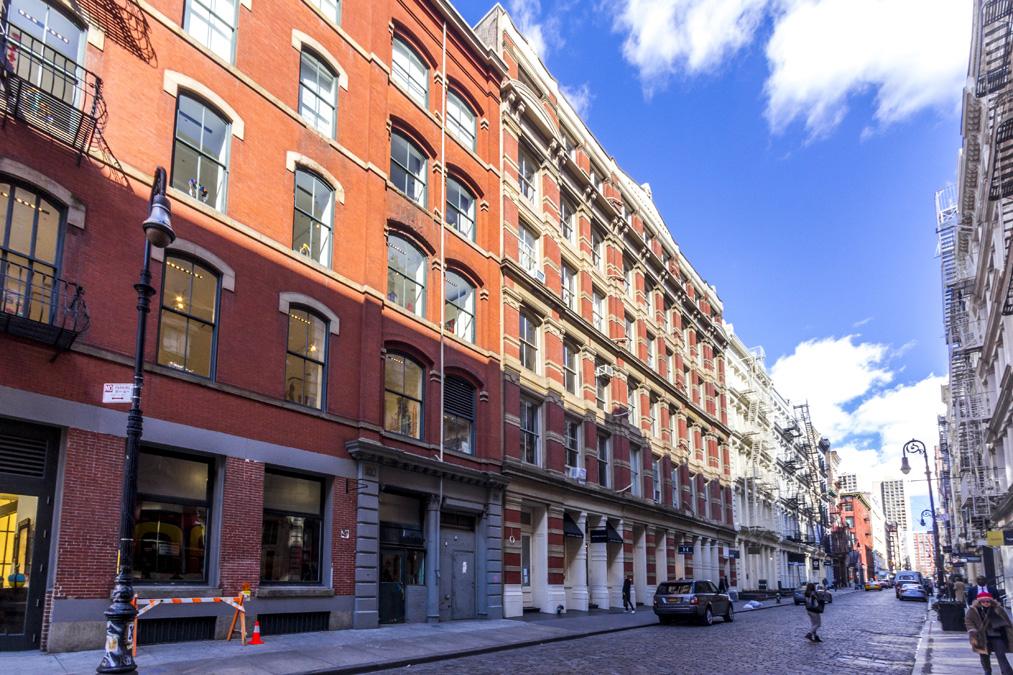 Greene Street dans le quartier Soho à New York