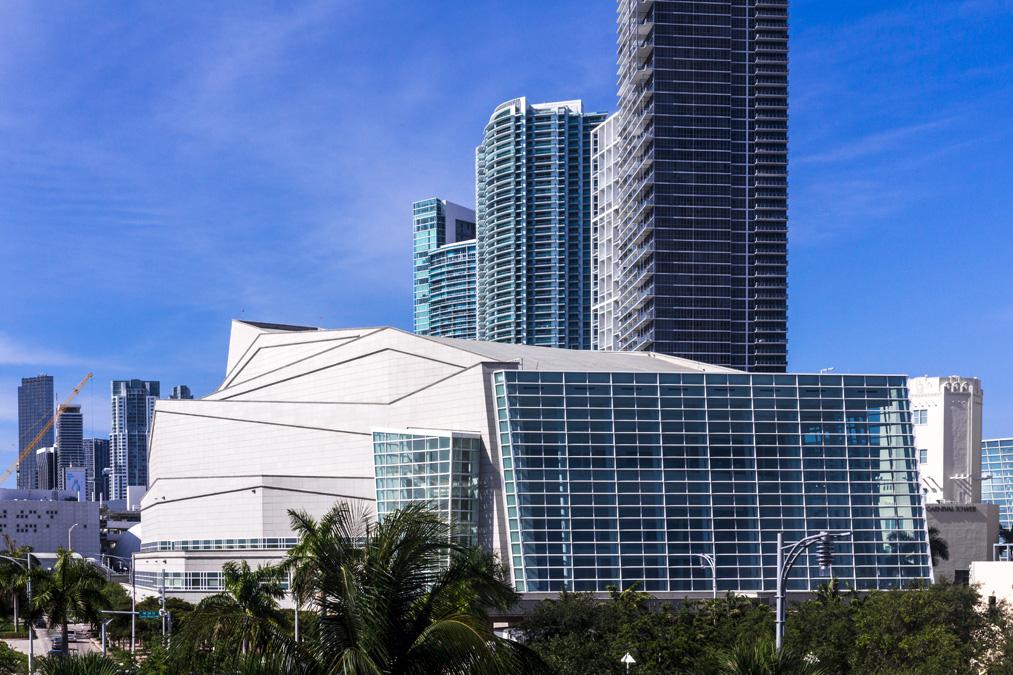 Adrienne Arsht Center à Miami en Floride