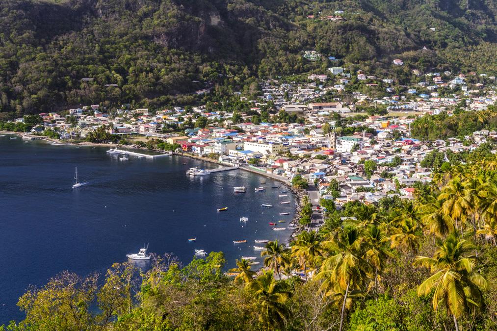 Soufrière de l'île Sainte-Lucie
