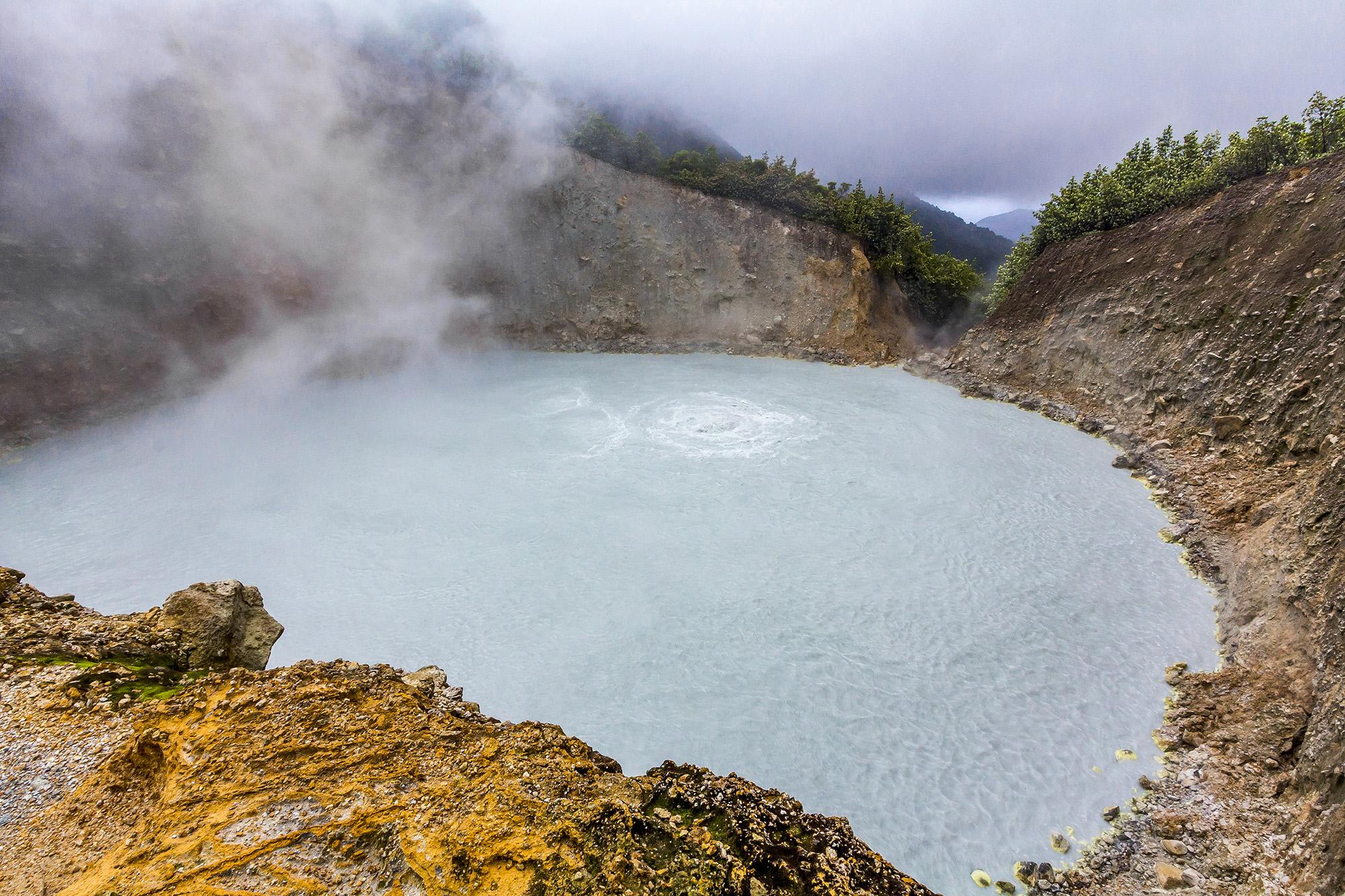 Boiling Lake de la Dominique
