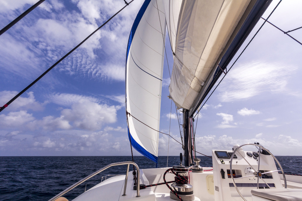 Catamaran 602 de Catlante aux Grenadines