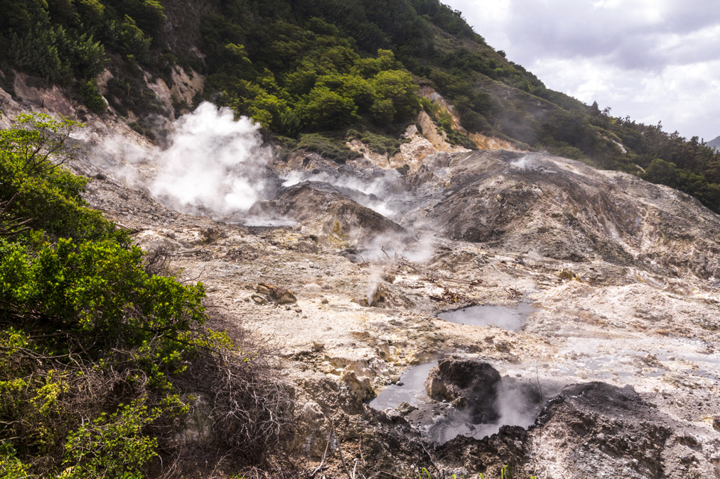 Sulphur Springs de l'île Sainte-Lucie