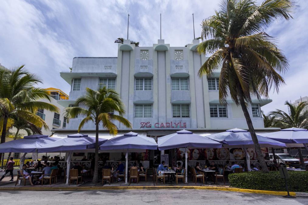 Hôtel Carlyle à Miami en Floride