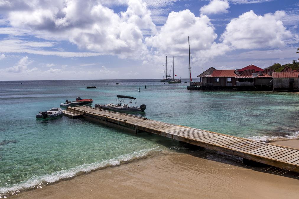 Britannia Bay de l'île Moustique aux Grenadines