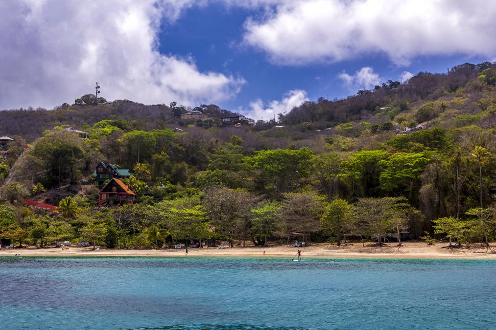 Princess Margaret Beach de l'île Bequia aux Grenadines