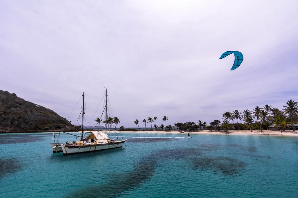 Salt Whistle Bay de l'île Mayreau aux Grenadines