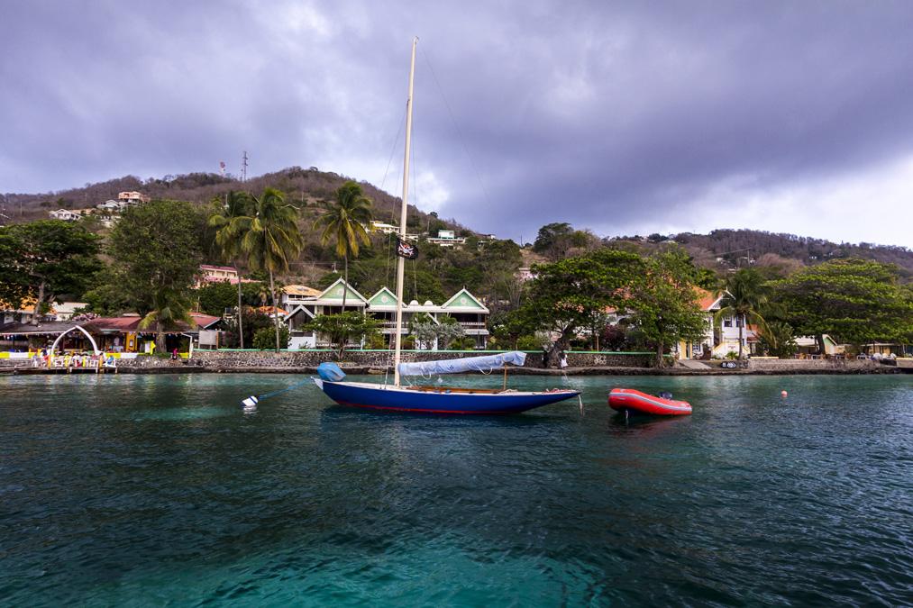 Port Elizabeth de l'île Bequia aux Grenadines