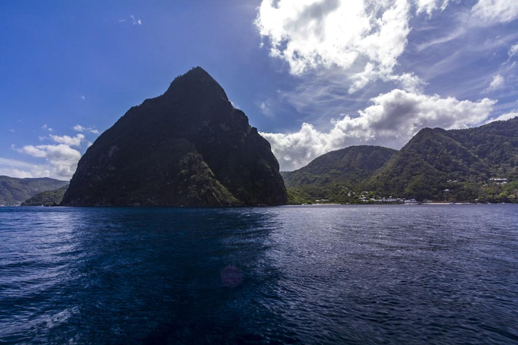 Petit Piton de l'île Sainte-Lucie
