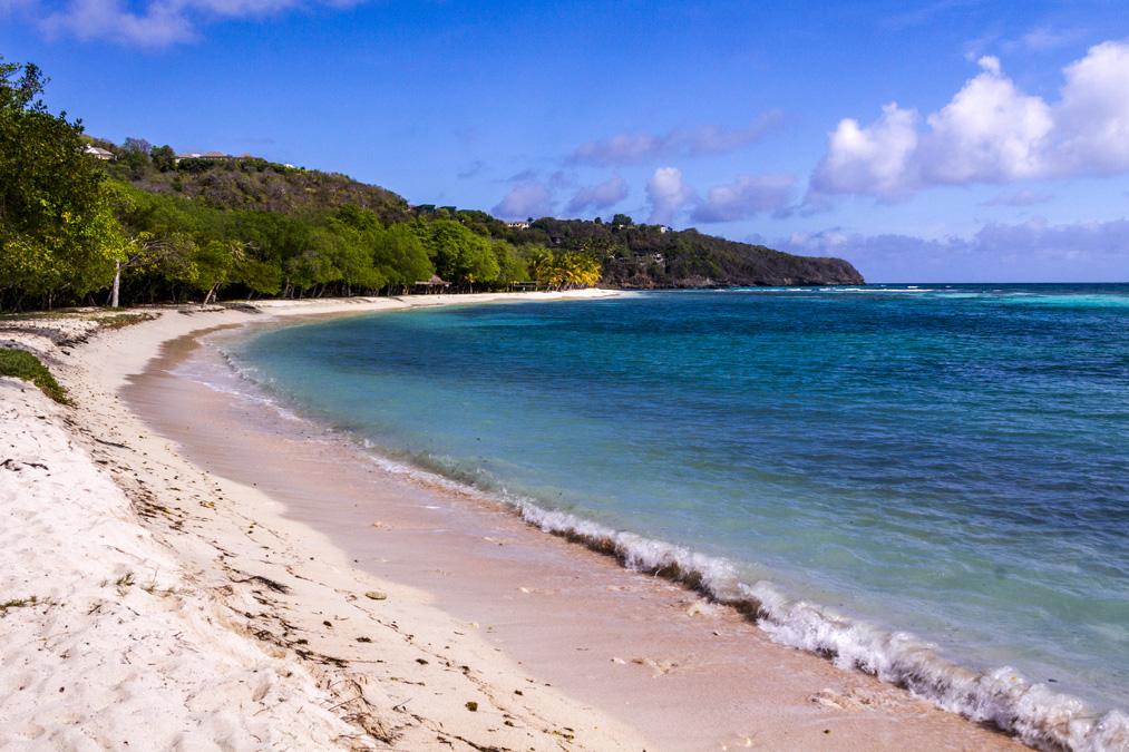 Lagoon Bay de l'île Moustique aux Grenadines