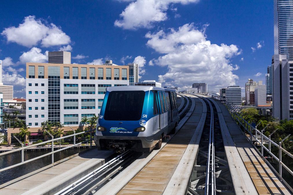Metromover de Miami en Floride