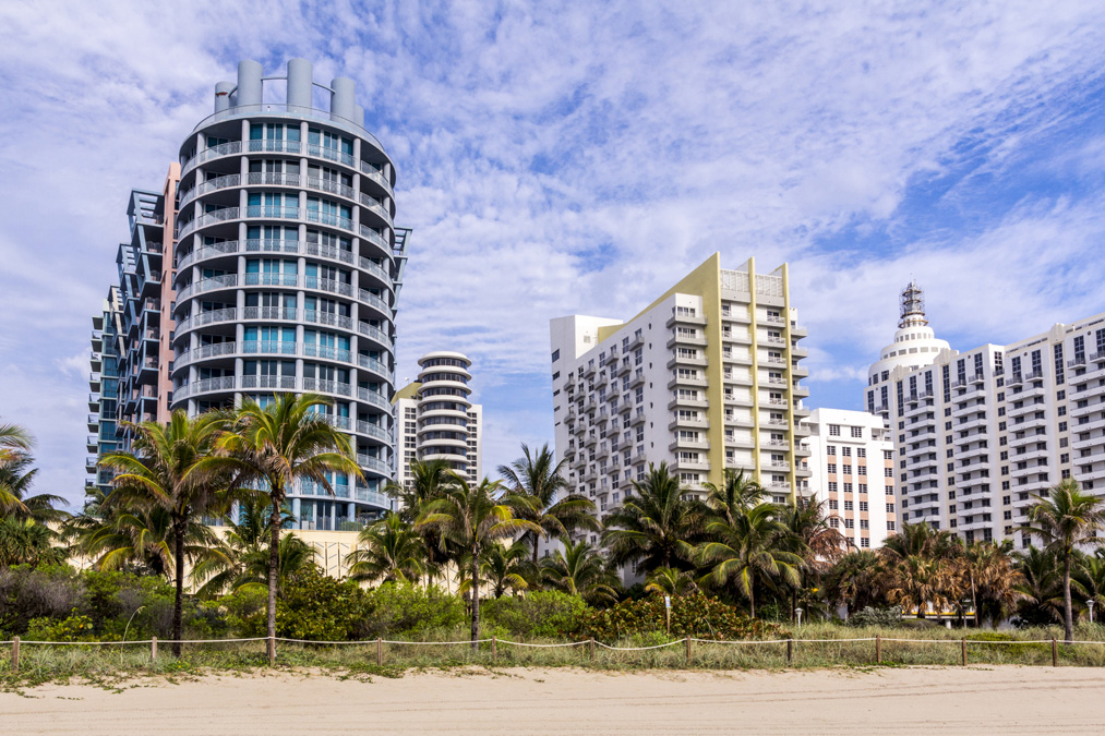 Building de Miami Beach en Floride