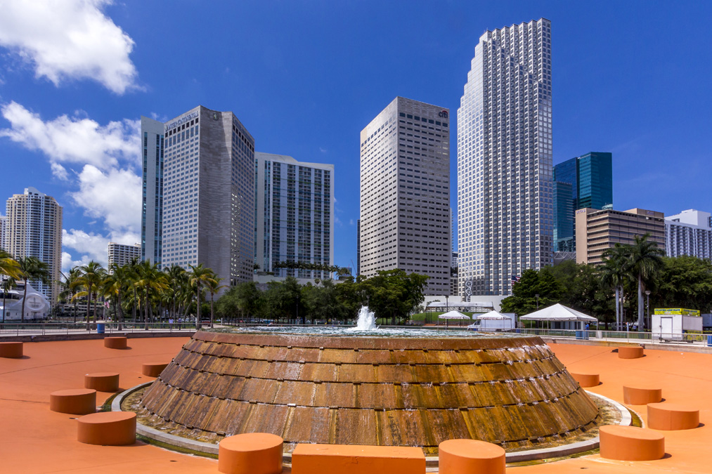 Bayfront Park à Miami en Floride