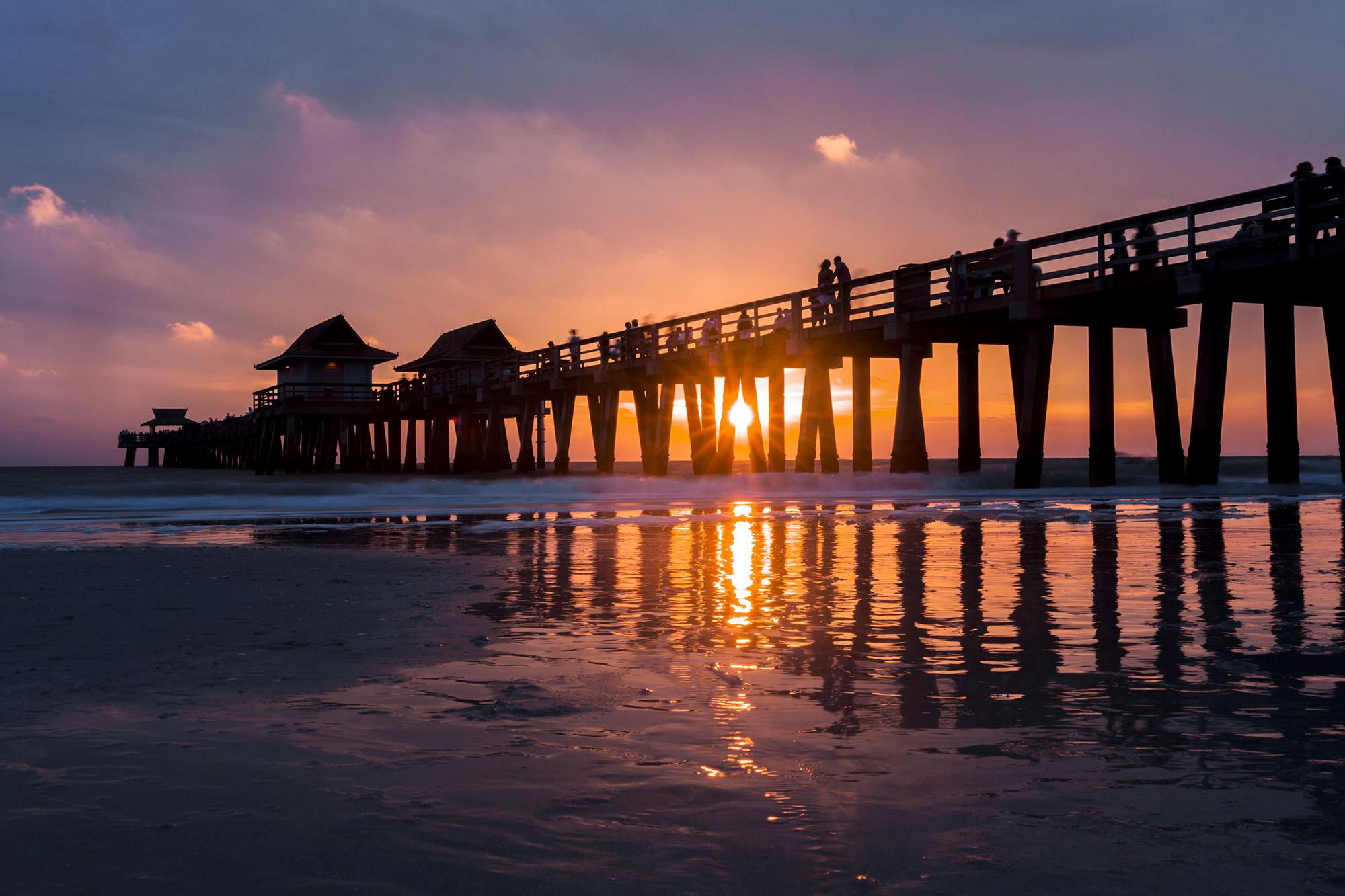 Naples Pier en Floride
