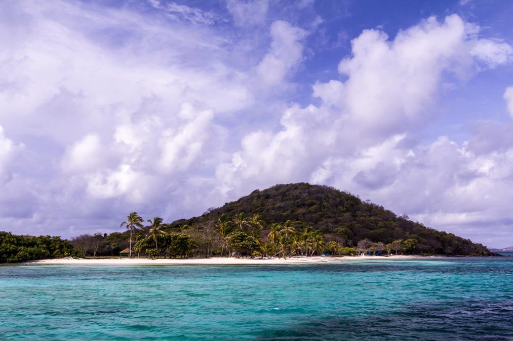 Petit Bateau des Tobago Cays aux Grenadines
