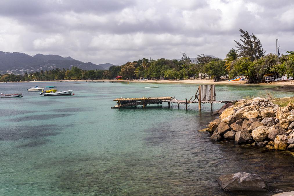 Plage de Sainte-Anne de l'île de la Martinique