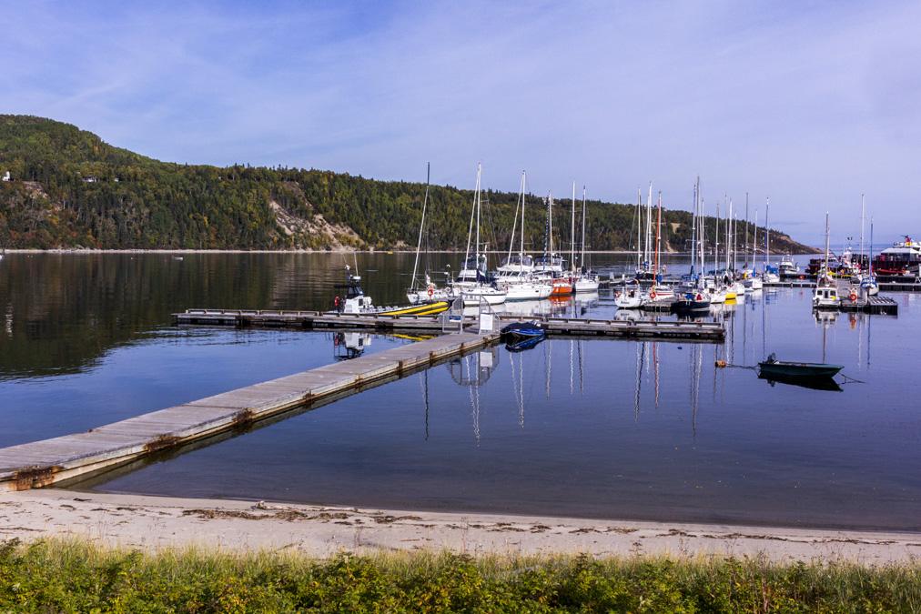 Baie de Tadoussac au Canada