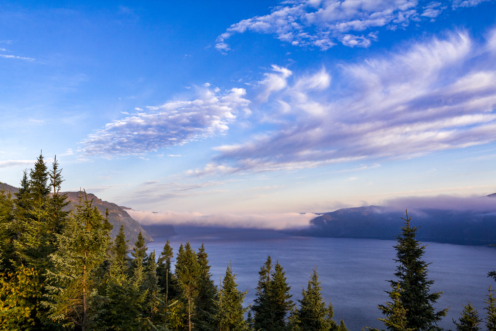 Anse Tabatière dans le Parc national du Fjord-du-Saguenay au Canada