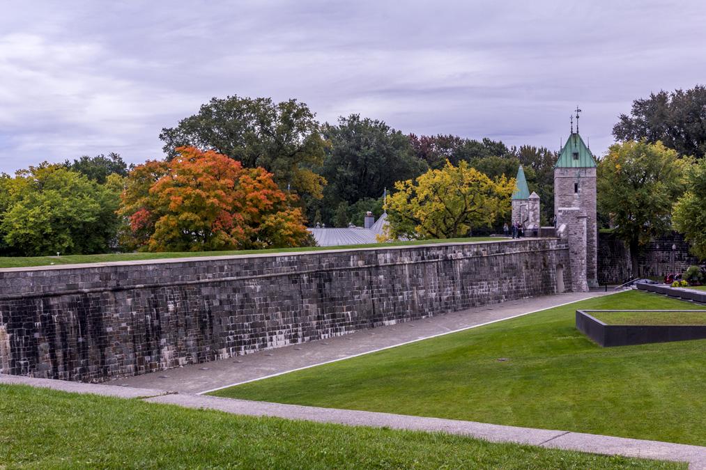 Fortifications de Québec au Canada