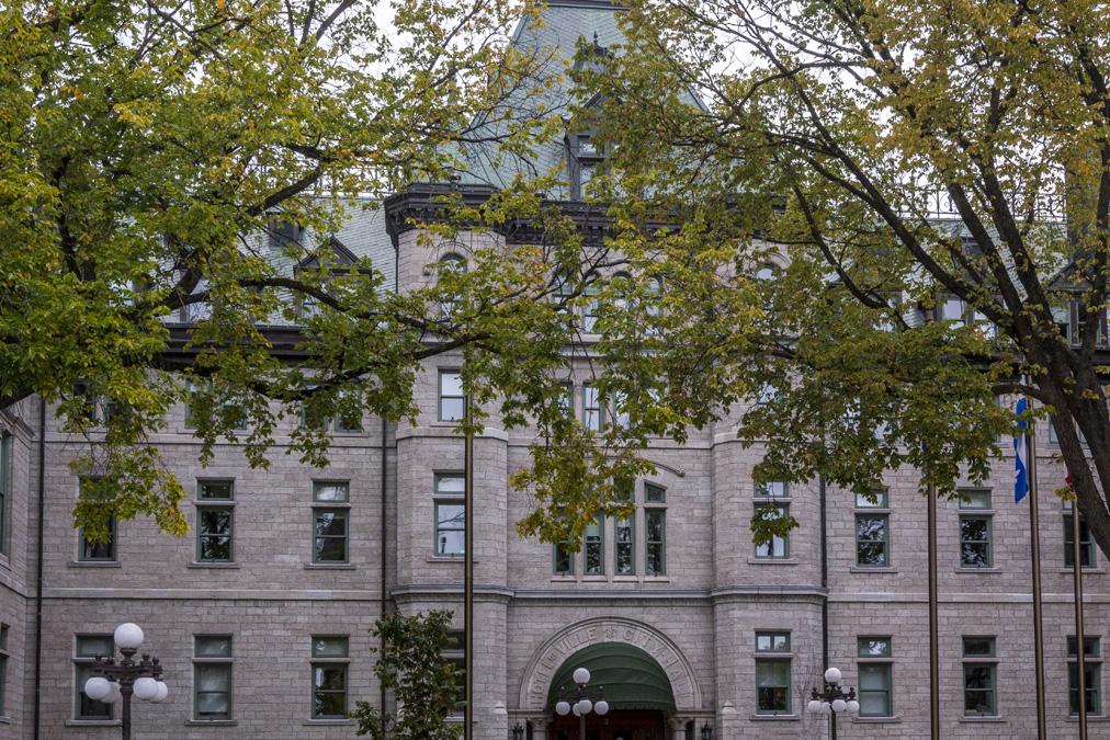 Hôtel de ville de Québec au Canada