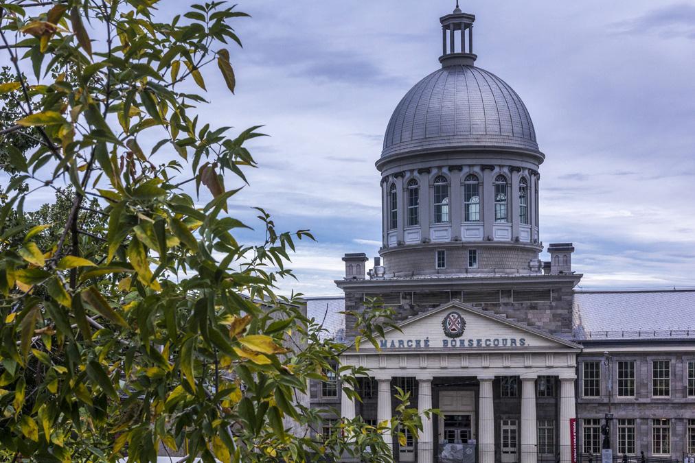 Marché Bonsecours de Montréal au Canada