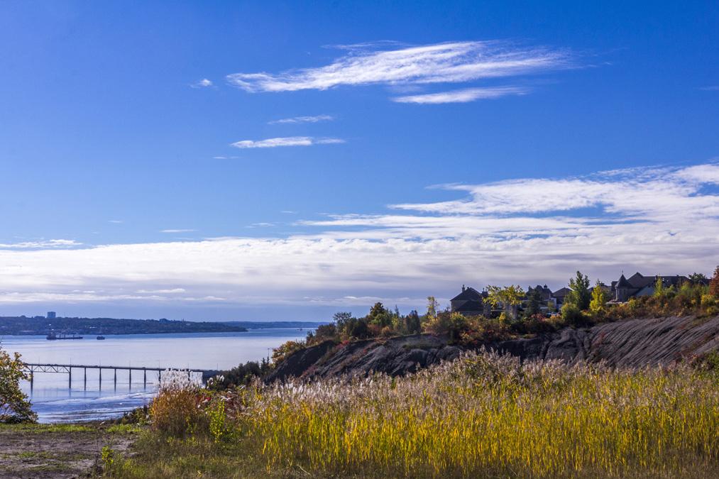 Parc de la Chute-Montmorency au Canada